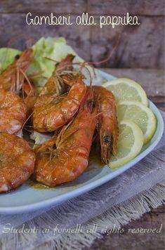 gamberi alla paprika in padella facili e veloce ricetta secondo pesce
