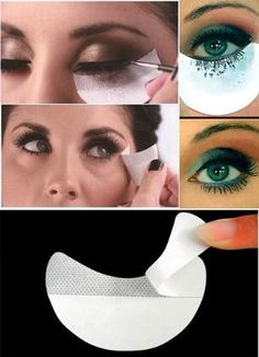 Eye Shadow Eyeliner Mascara Eyelash Painting Auxiliary Cleaning Tool Makeup Prevent Stickers [9005549060]