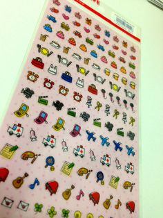 tiny sticker for your schedule planner by KawaiiTokyo on Etsy, $3.98