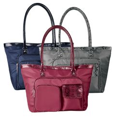 Organizer Tote Bag by AVON  i have the grey one - love all the pockets and storage