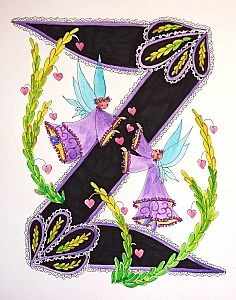 FLOWERS AND LETTERS FOR DECOUPAGE Alphabet And Numbers, Alphabet Letters, Floral Letters, Illuminated Letters, New Art, Pixie, Scrapbook, Quilts, Fairies