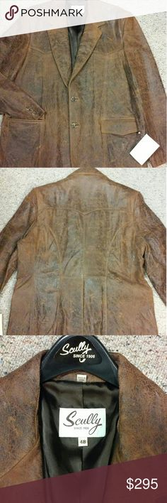 Sully Leather Blazer Sharp Leather Blazer. Great fit. Great quality. Fully lined. Inside and outside pockets. Very cool! Skully Suits & Blazers Sport Coats & Blazers