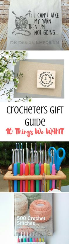 Looking for something to buy your crocheter? Check out the top 10 things we ACTUALLY WANT!