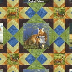 Free Quilt Pattern - Wilderness Stars - Free Shipping
