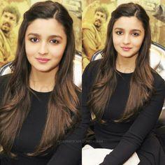 Alia Bhatt Hairstyles, Saree Hairstyles, Open Hairstyles, Ethnic Hairstyles, Daily Hairstyles, Hairstyles Haircuts, Wedding Hairstyles, College Hairstyles, Hair Puff