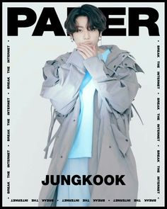 """BTS on Paper magazine Break the internet Jungkook"