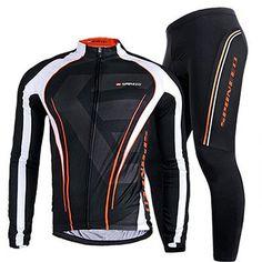 Sponeed Men's Bicycle Jersey Bike Pants