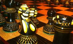 Custom Wooden Chess Board by Vancouver WoodSmith | Hatch.co