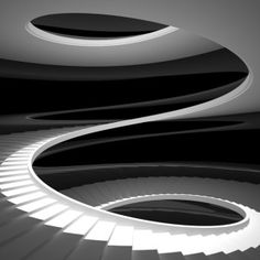 ideas for spiral stairs lighting white staircase Black Stairs, White Staircase, Staircase Design, Grand Staircase, Take The Stairs, Under Stairs, Escalier Design, Stair Lighting, Lighting Design
