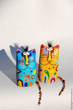 Items similar to Cat figurine, paper mache sculpture, collectible cat, handmade statuette, wood on Etsy Paper Mache Projects, Paper Mache Clay, Paper Mache Sculpture, Paper Mache Crafts, Cat Crafts, Arts And Crafts, Paper Mache Animals, Paperclay, Cat Art