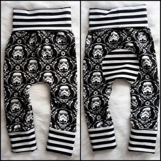 Storm troopers maxaloones size 1 6M-3Yrs by MustachesAndBows