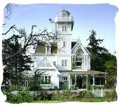 I've loved this house since I saw Practical Magic. Well, assuming the inside looks how it did in the movie...