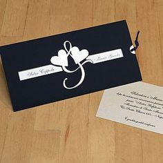 Partecipazione di matrimonio solidale - Arte Sposa