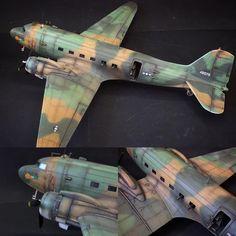 AC-47 'Spooky' gunship 1/72 Italeri. Modeler Unknown #scalemodel #plastimodelismo #plastickits #usinadoskits #udk #miniatura #miniature #maqueta #maquette #modelismo #hobby