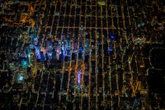 Vincent Laforet's night aerials of New York – in pictures