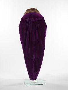 Evening coatReverdot Date: 1914 Culture: French Medium: silk, fur