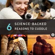 "It's no wonder we love cuddling so much: ""Touching and hugging enhance our mood and make us feel protected and safe,"""