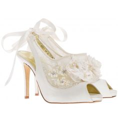 8a10b90c310f 69 Great Designer Wedding Shoes by Freya Rose images
