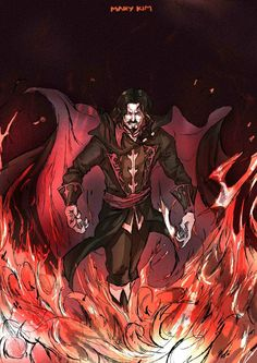 Castlevania by tolpost on DeviantArt Castlevania Dracula, Castlevania Anime, Castlevania Lord Of Shadow, Lord Of Shadows, Vampire Art, Alucard, Dark Lord, Video Game Characters, Character Portraits