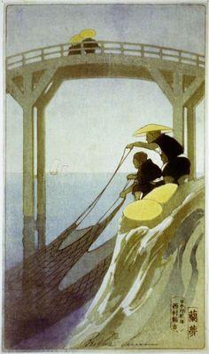 Fishermen - Bertha Lum.