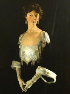 Sir William Orpen, Portrait of Rosie, Fourth Marchioness of Headfort