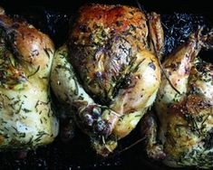 Adapted from Liz Neumark's cookbook, Sylvia's Table, dragon-roasted chicken is the perfect main dish for your Game of Thrones season premiere watch party. Serve this classic dish with simple side dishes like green beans and mashed potatoes. Game Of Thrones Food, Game Of Thrones Party, Roast Chicken Recipes, Roasted Chicken, Cooking Games, Cooking Recipes, Cooking Ribs, Game Recipes, Side Dishes Easy