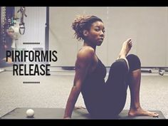 ▶ How To Relieve Hip, Lower Back and Buttock Pain: Piriformis Myofascial Release Technique - YouTube
