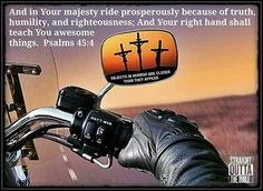 BFC is a Christian Motorcycle Ministry with a mission to bring the Lost to the Cross. We share the Gospel of Jesus Christ with whomever our Lord leads us to in the world of motorcycles. Motorcycle Humor, Motorcycle Art, Bike Art, Harley Davidson Quotes, Harley Davidson Motorcycles, Biker Chick, Biker Girl, Lady Biker, Bikers Prayer