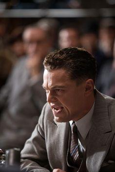 Leonardo Dicaprio as J. Edgar Hoover in J. Edgar