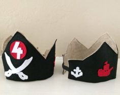 felt pirate crown
