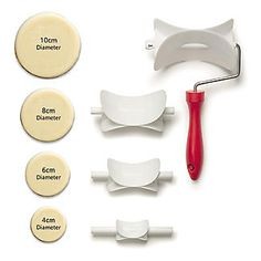 Round Rolling Pastry Cutter Set – 4 Sizes - from Lakeland Gingerbread Man, Cookie Cutters, Rolls, Shop, House, Image, Ideas, Bread Rolls, Home