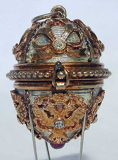 Gatchina Palace Faberge egg