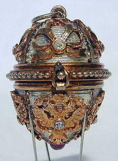 Gatchina Palace Faberge egg