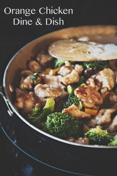 The best Orange Chicken Stir-Fry! This is a simple weeknight meal.