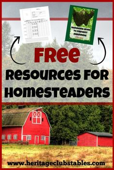 Homesteading is hard work. We would like to step in and help you out. We have a free resource page for homesteaders just like you, our subscriber. :)