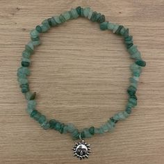 Crystal Bead Necklace, Crystal Jewelry, Beaded Jewelry, Jewelry Necklaces, Beaded Necklace, Green Necklace, Crystal Beads, Fairy Jewelry, Hippie Jewelry