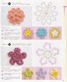 โครเชต์ดอกไม้ - ค้นหาด้วย Google