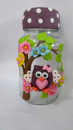 You are in the right place about baking powder biscuits Here we offer you the most beautiful pictures about the biscuits you are looking for. When you examine the part of the picture you can get the m Coffee Jar Crafts, Mason Jar Crafts, Bottle Crafts, Bottle Painting, Bottle Art, Diy Crafts For Gifts, Fun Crafts, Clay Jar, Clay Wall Art
