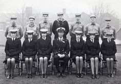 Part 2 training, HMS Pembroke, Chatham, 1970.