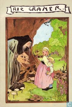 Rie Cramer-the witches in the old storybooks are always so scary-good.