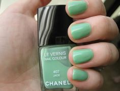 Chanel Jade - love it! Dressmaker by Milani is a pretty good dupe.