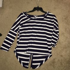 Charlotte Russe blouse back is button down, never worn Charlotte Russe Tops Blouses