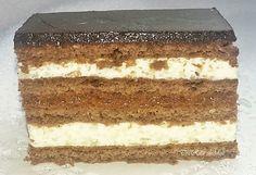 Az úgy volt, hogy a kolléganőm hozott sütit a névnapjára. Köztük volt a kakaós mézes is, amit akkor ettem először, de nem utoljára! Elmesélt... Tiramisu, Baking, Ethnic Recipes, Food, Cakes, Cake Makers, Bakken, Essen, Kuchen