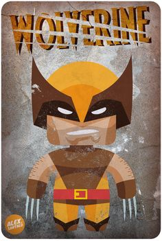 Wolverine vector by alexsantalo on DeviantArt