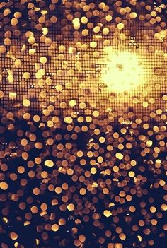 black, bokeh, disco, glitter, gold, light, lights, paillettes, sequins, shine, yellow