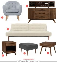 Mad Men Style: Mid Century Modern Furniture