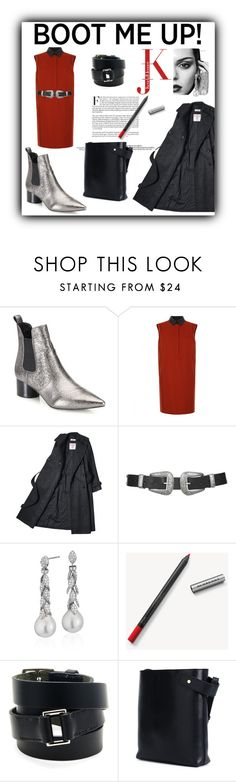 """""""Kick It: Chelsea Boots"""" by iv-gromova ❤ liked on Polyvore featuring Kendall + Kylie, Gucci, Topshop, Blue Nile, Burberry, Hermès, Loewe, chelseaboots and polyvorecontest"""