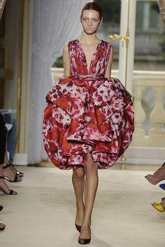 Magda Laguinge in Giambattista Valli Fall Couture 2012