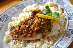 Pecan Crusted Cod #Sunday Supper