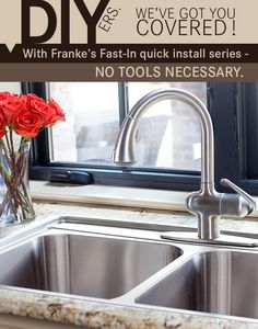 Franke Fast In Sink : DIYers, weve got you covered! With Frankes Fast-In quick install ...